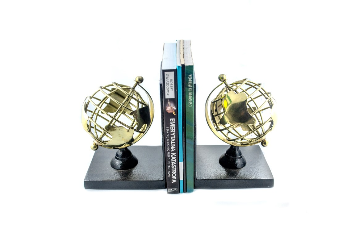 Bookend - globusy - 10260